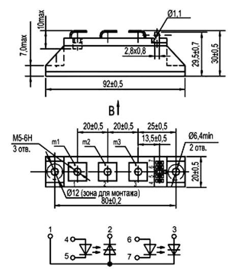 МТОТО-80-12 силовой модуль